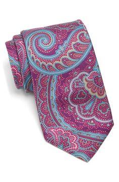 Men's Ted Baker London Paisley Silk Tie