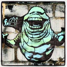 SLIMER! My favorite character from Ghostbusters!