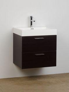 Single Bathroom Vanity Set Espresso 22.75 In. X 18.25 TN-T580-WG on Conceptbaths.com