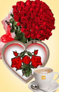 Love Heart Images, Beautiful Flowers Images, Beautiful Flowers Wallpapers, Beautiful Gif, Flower Images, Angel Wallpaper, Heart Wallpaper, Flower Wallpaper, Good Morning My Love