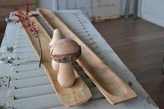 Smalle troggen / stokbroodplanken (Narrow trough / baguette boards) www.blossombrocante.nl