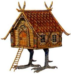 Baba Yaga Hut http://endicottstudio.typepad.com/artslist/baba-yaga-in-film-ii-by-james-graham.html