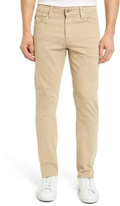 AG Everett SUD Slim Straight Fit Pants Ag Jeans, Jeans Pants, Tall Men Fashion, Mens Fashion, Beige Pants, Khaki Pants, Top Clothing Brands, Tall Pants, Mens Big And Tall