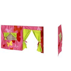 KIDS World Print Tent Pink,   Let your child's imagination run wild with this stunning tent designed to compliment any young person's bedroom.  This fantastic idea can also be used as a storage facility.  Why not include the tunnel and pocket to complete your order.  Other colours are available.  Size W 1570 x D 900 x H 700 mm  Special Price: £39.00   1500503