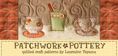 PatchworkPottery — Book Pillow & Pincushion