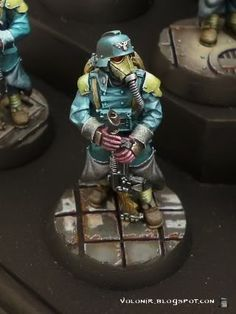 Volomir's Blog: Death Korps of Krieg At Ease