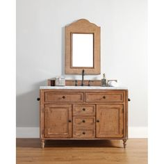 """James Martin 48"""" Copper Cove Single Vanity - Driftwood Patina - Bathroom Vanities Only (HMS Stores)"""