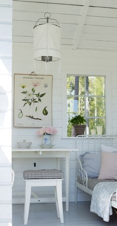 love this light washed room