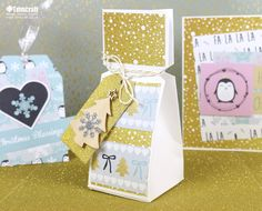 It's time to get cute and Christmassy with our free paper download! This magical collection of pretty penguins, sparkles, Christmas trees and snowflakes will add a wonderful look to your festive projects…