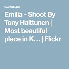 Emilia - Shoot By To