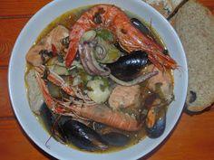 Creative Home Cooking With Ibty: Seafood Piri Piri Soup (Supu ya Vyakula Vya Bahari...