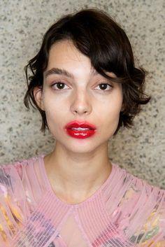 Preen By Thornton Bregazzi | Autumn/Winter 2017: Backstage Beauty | British Vogue