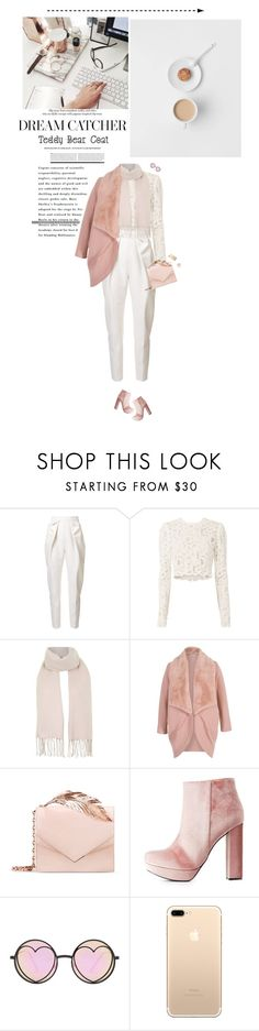 """Pink Teddy "" by miss-milika ❤ liked on Polyvore featuring Delpozo, A.L.C., Topshop, Chesca, RALPH & RUSSO, Charlotte Russe, Prada, Betsey Johnson and Red Camel"