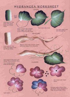 One Stroke Flowers and Vines - Oksana Volkova - Picasa Web Albums