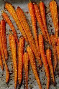 Geroosterde wortels met honing en sesamzaadjes 2
