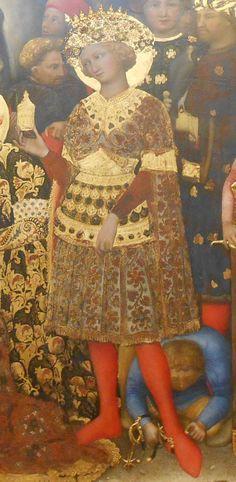 Gentile da Fabriano, Adorazione dei Magi (1423. Firenze, Uffizi) #Uffizi