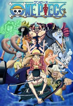 : One Piece Vol. Collab' , One Piece Tome 64 Cover Line & Colo By: -Francky -Brook -Jinbe -Chopper -Robin -Sanji -Luffy -Nami. One Piece Vol 64 Anime One Piece, One Piece Fan Art, One Piece Crew, One Piece World, Anime D, Anime Comics, Otaku Anime, Marvel Comics, One Piece Personaje Principal