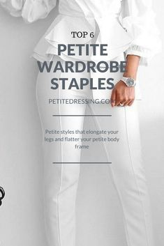 Top 9 Wardrobe Staples for Stylish Petite Women Elevate your petite style with this 6 must have wardrobe staples to look taller and thinner. Check out www. for petite clothing from independent designers. Petite Fashion Tips, Fashion For Petite Women, Petite Outfits, Petite Dresses, Fashion Tips For Women, Fashion Advice, Plus Size Fashion, Womens Fashion, Petite Clothes