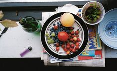 Summer still life, by Wolfgang Tillmans