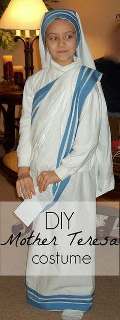 All Saints' Day Costume--Mother Teresa of Calcutta