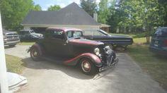 1934 5 window coupe