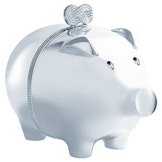 d5cbfde6ee36 Buy Vera Wang Infinity Piggy Bank Online at johnlewis.com I love this Christening  gift