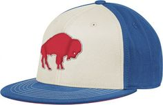 Buffalo Bills Reebok Retro Sport Throwback Flat Bill Flex Hat   Official NFL