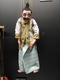 Homem Velho, Marionetas do Myanmar