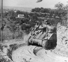 Polish Sherman III after battle on Gothic Line, Italy September 1944 Thunder Strike, Italian Campaign, Ww2 Pictures, Sherman Tank, Photo Dump, World Of Tanks, Battle Tank, North Africa, Sounds Like