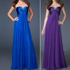 Formal Bridal Ball Gown Bridesmaid Cocktail Party Prom Long Evening Dress Maxi | eBay