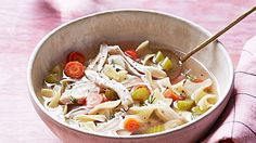 Test Kitchen& Favorite Chicken Soup Made with a Whole Chicken Chilli Recipes, Soup Recipes, Cooking Recipes, Dinner Recipes, Korma, Biryani, Kid Friendly Chicken Recipes, Martha Stewart Recipes, Chicken Noodle Soup