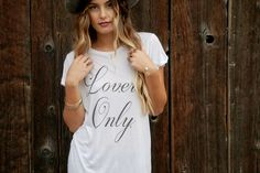 ROYAL RABBIT Lovers Only modal tee