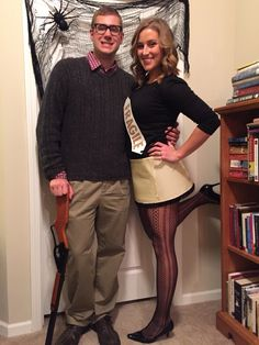 couple costume ralphie and the leg l sc 1 st pinterest
