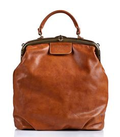 Brown Leather Tote Bag / Cross Body Office by EllenRubenBagsShoes, $429.00