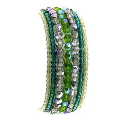 Amazon.com: Beaded Stretch String Cluster Bracelet Colorful Fashion Jewelry Indian: Furniture & Decor