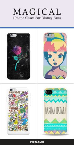 There's a Disney phone case for any type of fan.