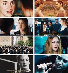Divergent!! OMG I can't wait to see the movie! I am going to see it next week :)