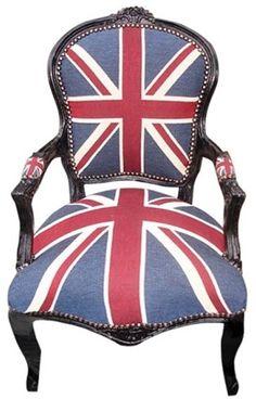 union jack chair <3