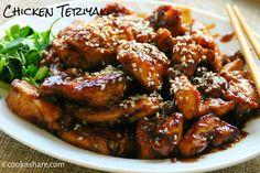Chicken Teriyaki   Cook n' Share - World Cuisines