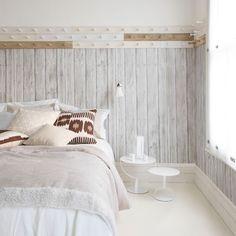 vintage scandinavian bedroom
