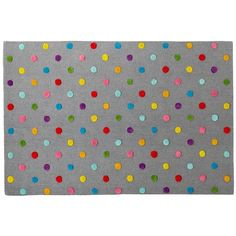 Candy Dot Rug via @The Land of Nod