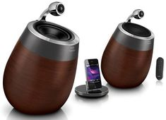 Philips Fidelio Wireless Hi-Fi Wood