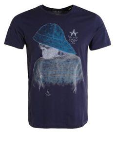 Esprit T-shirt print - navy - Zalando.be
