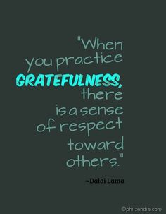 quotation about gratitude and being thankful.