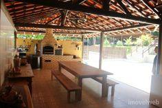 area gourmet com churrasqueira e piscina - Pesquisa Google