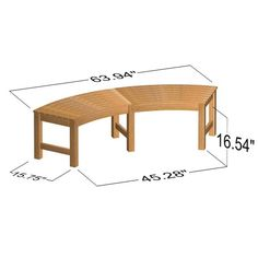 Buckingham Rounded Teak Backless Bench | Westminster Teak Teak Garden Bench, Outdoor Garden Bench, Outdoor Fire, Fire Pit Furniture, Teak Furniture, Westminster Teak, Hot Tub Surround, Round Hot Tub, Fire Pit Essentials