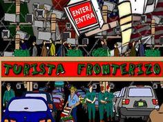 Coco Fusco & Ricardo Dominguez, interactive play, 2005.  click here for a related essay: http://plymouth.academia.edu/FedericaTimeto/Papers/83269/Arte_femminista_e_nuove_tecnologie_una_prospettiva_situata