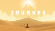 week 2 Storytelling: Journey truly great at storytelling. In this game the story is not told to you, nor is a single word spoken, but as you journey to a mountain you learn about it through the thing you see and experience. First Video Game, Video Game Art, God Of War, Best Games, Fun Games, Awesome Games, Awesome Stuff, Journey 2012, Games