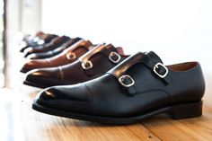 http://chicerman.com  cobblerunion:  Double the buckles double the fun. #Cobblerunion  The Francis #monks by Cobbler Union  http://cblr.co/a/rON16XuF  #menshoes