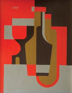 Uruguayan artist José Pedro Costigliolo was a pioneer of the modernist art movement in Uruguay. Painting Corner, Still Life Artists, Crackle Painting, Music Artwork, Minimalist Art, Geometric Art, Contemporary Paintings, Art Techniques, Cool Drawings